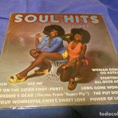 Discos de vinilo: BOXX53 LP SOUL FUNK RECOP UK 1972 SOUL HITS BUEN ESTADO VER TEMAS EN FOTO. Lote 214231657