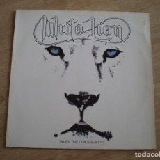 Discos de vinilo: MAXI 12 PULGADAS. WHITE LION. WHEN THE CHILDREN CRY. AÑO 1987. BUENA CONSERVACION. Lote 214234797