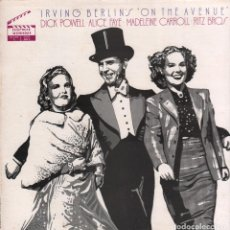 Discos de vinilo: IRVING BERLIN´S ON THE AVENUE / DICK POWELL / ALICE FAYE...LP HOLLYWOOD SOUNDSTAGE / RF-8336. Lote 214246208