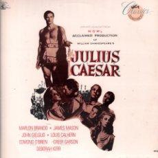 Discos de vinilo: JULIUS CAESAR - LP MCA CLASSICS SOUNDTRACKS DE 1986 USA RF-8337 , PERFECTO ESTADO. Lote 214246486