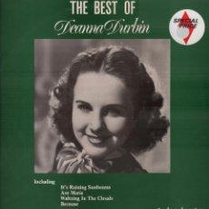 Discos de vinilo: THE BEST OF DEANNA DURBIN -- LP MCA RECORDS DE 1981 - RF-8339 , PERFECTO ESTADO / MADE IN ENGLAND. Lote 214247053