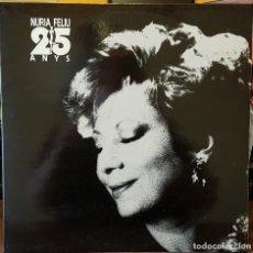 Discos de vinilo: LOTE 5 LPS NURIA FELIU. Lote 214248611