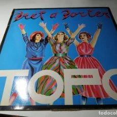 Discos de vinilo: LP - TOPO – PRET A PORTER - HS-35033 ( VG+ / VG+ ) SPAIN 1980. Lote 214262296