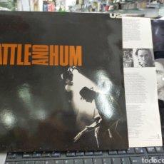 Disques de vinyle: U2 DOBLE LP RATTLE AND HUM ESPAÑA 1988 CARPETA DOBLE EN PERFECTO ESTADO. Lote 214262858