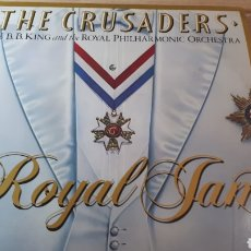 Discos de vinilo: THE CRUSADERS WITH B.B. KING LIVE DOBLE LP. Lote 214266152