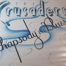 Discos de vinilo: THE CRUSADERS RHAPSODY AND BLUES. Lote 214269458