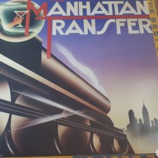 Discos de vinilo: THE MANHATTAN TRANSFER THE BEST OF. Lote 214269951