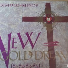 Discos de vinilo: SIMPLE MINDS NEW GOLD DREAM. Lote 214271250