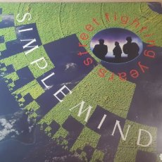 Discos de vinilo: SIMPLE MINDS STREET FIGHTING YEARS. Lote 214271361