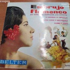 Discos de vinilo: CHIQUITA HERRADA–EMBRUJO FLAMENCO . EP 1961. Lote 214277887