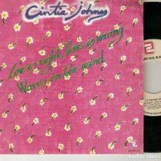 "Discos de vinilo: CYNTHIA JONES CINTIA JOHNES 7"" SPAIN 45 LOVE IS RIGHT LOVE IS WRONG 1979 SINGLE VINILO FUNK SOUL @@. Lote 214279193"
