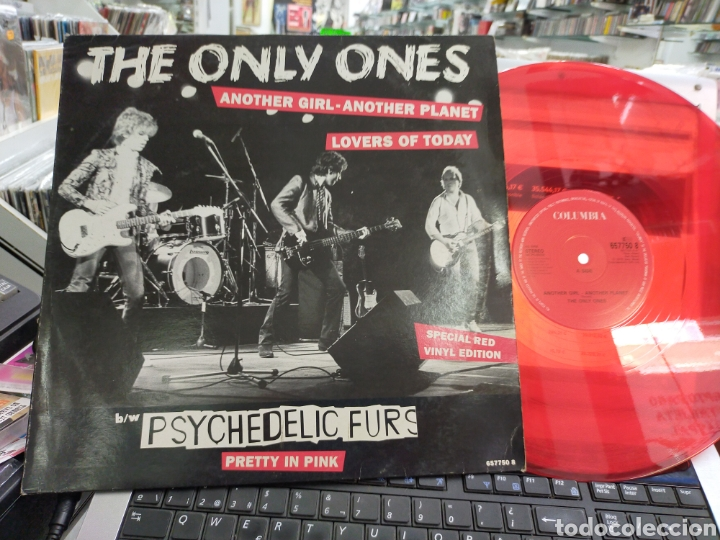 THE ONLY ONES MAXI ANOTHER GIRL,ANOTHER PLANET U.K. 1992 VINILO ROJO (Música - Discos de Vinilo - Maxi Singles - Punk - Hard Core)