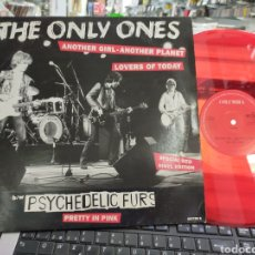 Discos de vinilo: THE ONLY ONES MAXI ANOTHER GIRL,ANOTHER PLANET U.K. 1992 VINILO ROJO. Lote 214283506