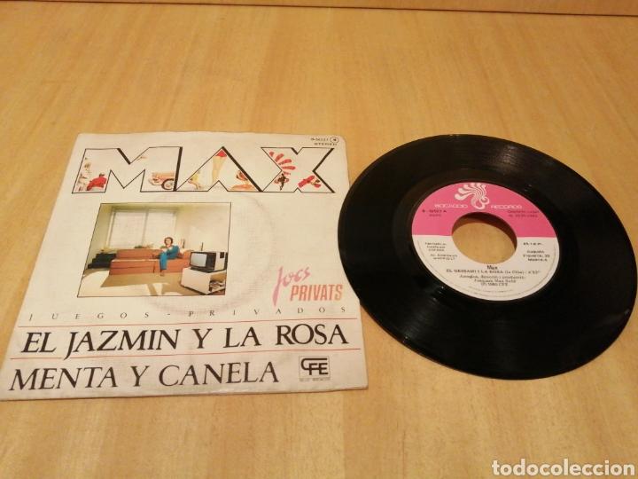 MAX SUÑE. EL JAZMÍN Y LA ROSA. MENTA Y CANELA. (Música - Discos - Singles Vinilo - Jazz, Jazz-Rock, Blues y R&B)