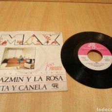 Discos de vinilo: MAX SUÑE. EL JAZMÍN Y LA ROSA. MENTA Y CANELA.. Lote 214284647
