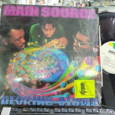 Discos de vinilo: MAIN SOURCE LP BREAKING ATOMS U.S.A. 1991 ORIGINAL EN PERFECTO ESTADO. Lote 214285208