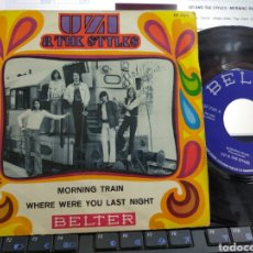 Discos de vinilo: UZI & THE STYLES SINGLE MORNING TRAIN ESPAÑA 1970. Lote 214288141