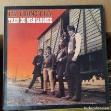 Discos de vinilo: LA FRONTERA - TREN DE MEDIANOCHE (LP, ALBUM) (POLYDOR) 831 982-1 (D: VG+). Lote 214289723