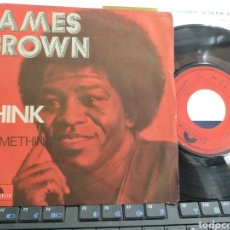 Discos de vinilo: JAMES BROWN SINGLE THINK FRANCIA. Lote 214289743