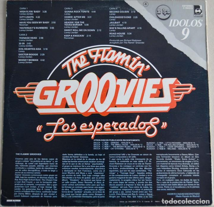 Discos de vinilo: THE FLAMIN GROOVIES - LOS ESPERADOS (DISCO DOBLE) - Foto 2 - 214293140