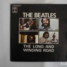 Discos de vinilo: THE BEATLES THE LONG AND WINDING ROAD, EMI ODEON J 006 04.514. Lote 214294456
