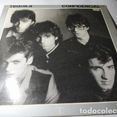 Discos de vinilo: LP -TEQUILA – CONFIDENCIAL - ZL 520 ( VG+ / VG+) SPAIN 1981. Lote 214295051