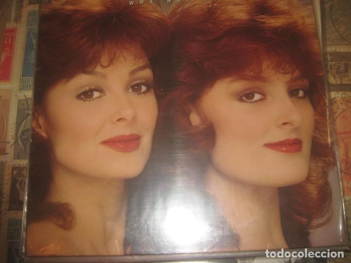 THE JUDDS WHY NOT ME ( 1984 RCA ) OG ALEMANIA COUNTRY WYNONNA NAOMI (Música - Discos - LP Vinilo - Country y Folk)