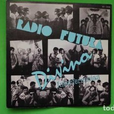 Discos de vinilo: DISCO PROMOCIONAL RADIO FUTURA DIVINA, HISPAVOX 45 - 2016. Lote 214299191