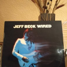 "Discos de vinilo: JEFF BECK ""WIRED"". 1976. Lote 214300908"