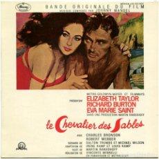 Discos de vinilo: JOHNNY MANDEL - LE CHEVALIER DES SABLES BSO - EP FRANCE 1965 - MERCURY 126 203 MCE. Lote 214309667