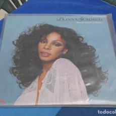 Discos de vinilo: BXX54 DOBLE LP FUNK SOUL DONNA SUMMER UK 1979 ONCE UPON A TIME PEQUEÑAS SEÑALES DE USO AUN CORRECTO. Lote 214310100