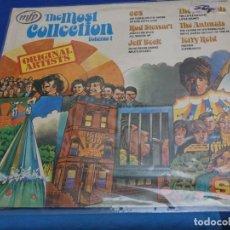 Discos de vinilo: BXX54 LP TERRORIFICO UK 71 THE MOST COLLECTION, LEVES SEÑALES DE USO TERRY REID YARDBIRDS CCS BECK. Lote 214310391