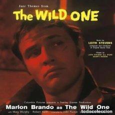 Discos de vinilo: THE WILD ONE / SALVAJE * JAZZ THEMES B.S.O * LTD VINILO 180G. VINILO DE COLOR FUCSIA. Lote 214311802