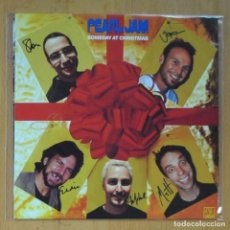 Discos de vinilo: PEARL JAM - SOMEDAY AT CHRISTMAS / BETTERMAN - SINGLE. Lote 214330503