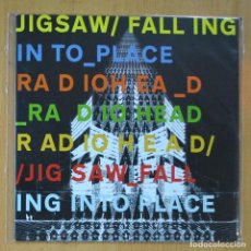Discos de vinilo: RADIOHEAD - JIG SAW FALLING / INTO PLACE - SINGLE. Lote 214330511