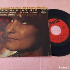 "Discos de vinilo: 7"" SONIA CHRISTIE - ÉRIC RICHARD - MARIE CHANTAL - FRANCE PRESS EP EUROVISION (VG+/VG++). Lote 214331400"