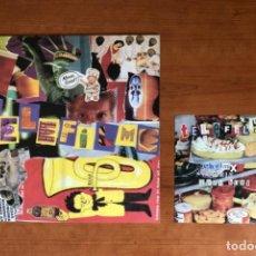 Discos de vinilo: TELEFILME - FADE IN FADE OUT + SINGLE (1995 ELEFANT RECORDS LOS PLANETAS POP) (MP3 ANUNCIO). Lote 214343865