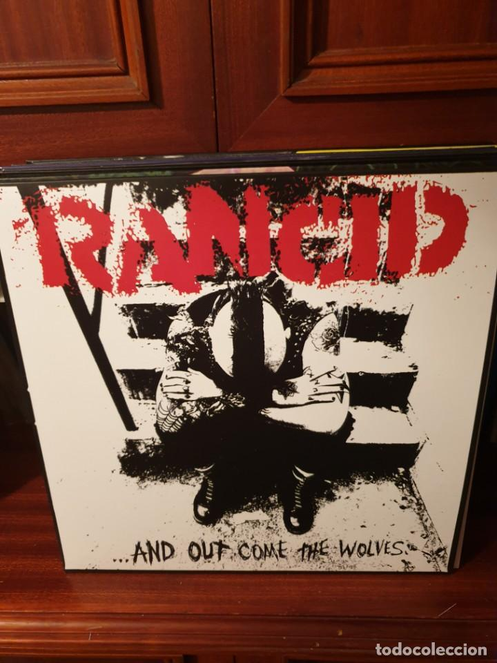 RANCID / .. AND OUT COME THE WOLVES / NOT ON LABEL (Música - Discos - LP Vinilo - Punk - Hard Core)