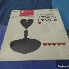 Discos de vinilo: RCH56 LP USA ANTINQUISIMO GRAN GROSOR Y MUY BUEN ESTADO RAY CHARLES SINGERS SOMETHING SPECIAL. Lote 214354302