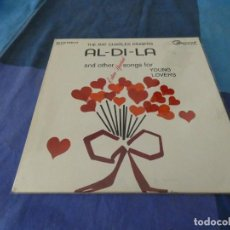 Discos de vinilo: RCH56 LP USA ANTINQUISIMO GRAN GROSOR Y MUY BUEN ESTADO RAY CHARLES SINGERS AL-DI-LA. Lote 214355197