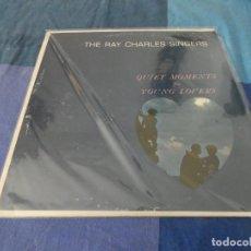 Discos de vinilo: RCH56 LP USA ANTINQUISIMO GRAN GROSOR Y MUY BUEN ESTADO RAY CHARLES SINGERS QUIET MOMENTS FOR YOUNG. Lote 214355251