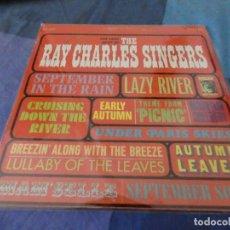 Discos de vinilo: RCH56 LP USA ANTINQUISIMO GRAN GROSOR Y MUY BUEN ESTADO RAY CHARLES SINGERS VERY BEST OF. Lote 214355365
