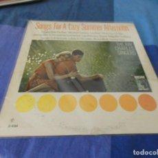 Discos de vinilo: RCH56 LP USA ANTINQUISIMO GRAN GROSOR Y MUY BUEN ESTADO RAY CHARLES SINGERS A LAZY AFTERNOON. Lote 214355447