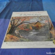 Discos de vinilo: RCH56 LP USA ANTINQUISIMO GRAN GROSOR Y MUY BUEN ESTADO RAY CHARLES SINGERS AUTUMN NOCTURNE. Lote 214355595
