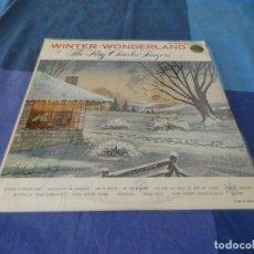 Discos de vinilo: RCH56 LP USA ANTINQUISIMO GRAN GROSOR Y MUY BUEN ESTADO RAY CHARLES SINGERS WINTER WONDER LAND. Lote 214355621