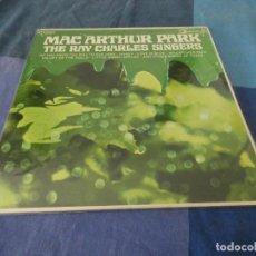 Discos de vinilo: RCH56 LP USA ANTINQUISIMO GRAN GROSOR Y MUY BUEN ESTADO RAY CHARLES SINGERS MC ARTHUR PARK. Lote 214355708