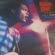 Discos de vinilo: THE ROBERT CRAY BAND FALSE ACCUSATIONS. Lote 214357436