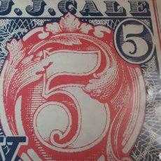 Discos de vinilo: J.J.CALE 5. Lote 214357525