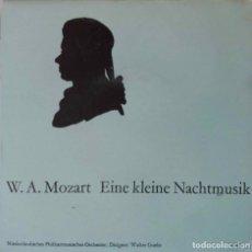 Discos de vinilo: MOZART. EINE KLEINE NACHTMUSIK. EP HOLANDA 33 1/3 RPM.. Lote 214363041