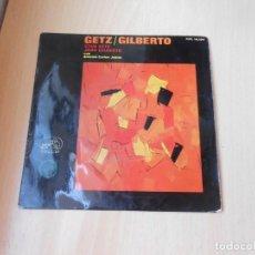 Discos de vinilo: GETZ - GILBERTO, EP, THE GIRL FROM IPANEMA + 2, AÑO 1964. Lote 214364756